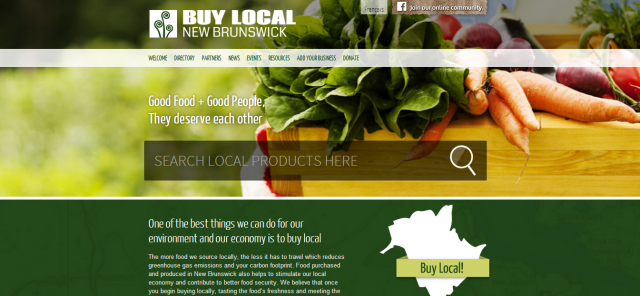 Buy Local NB Website