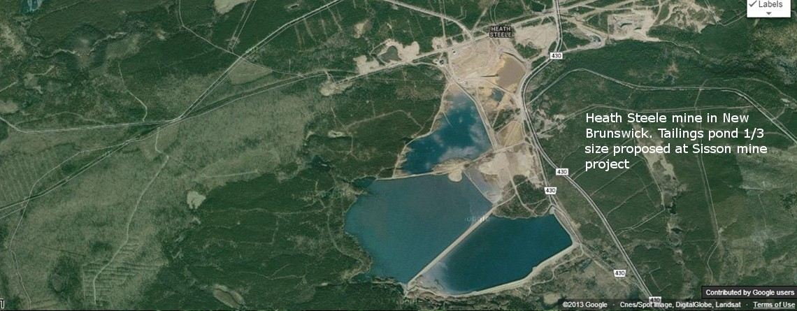 Restart public review period for Sisson mine project: CCNB Action