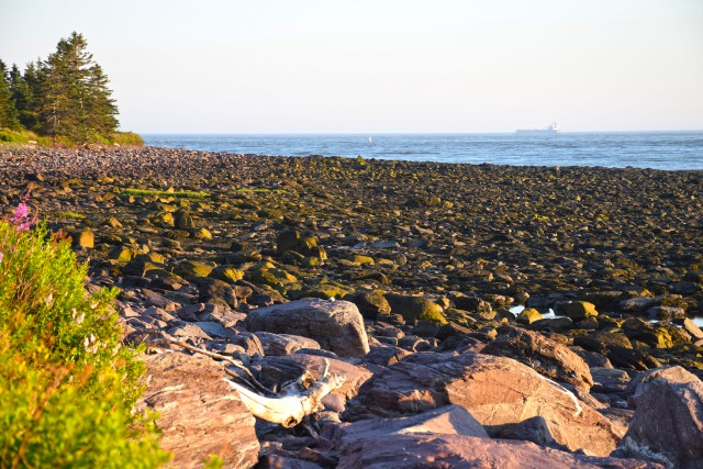 Anthony's Cove near Red Head, NB, the location of the proposed tanker farm