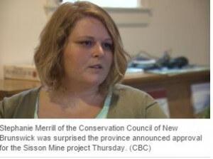 Stephanie Merrill on approval of Sisson Mine EIA