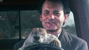 It sure feels like Groundhog Day
