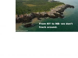Conservation Council of New Brunswick says extending fracking moratorium is good public policy