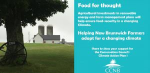 The important role New Brunswick's farmers have to play in addressing climate change