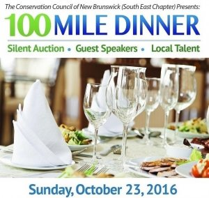 It's back!  Treat yourself with local goodies at our annual 100 Mile Dinner fundraiser!