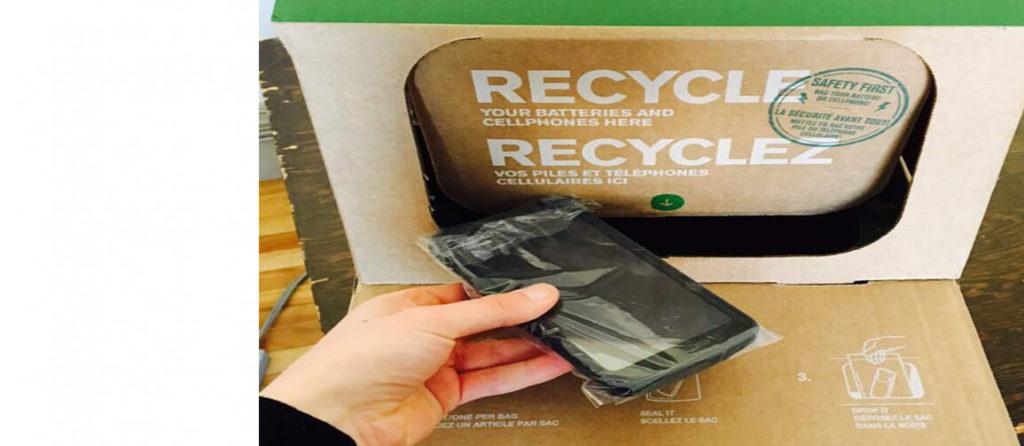 Un téléphone cellulaire ou des piles usagées à recycler? Apportez-les au Conseil de conservation!