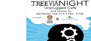 Get ready to play TREEvia on Monday, Feb. 27 at Unplugged Cafe
