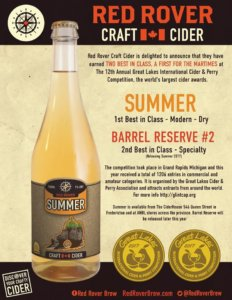 New Brunswick microbrew wins big at world's top cider competition