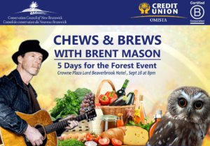 OMISTA Chews & Brews with Brent Mason: 5 Days for the Forest event