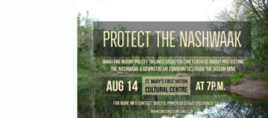 Event: Protecting the Nashwaak from a mine's tailings
