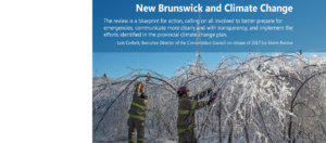 Conservation Council statement on release of 2017 Ice Storm Review