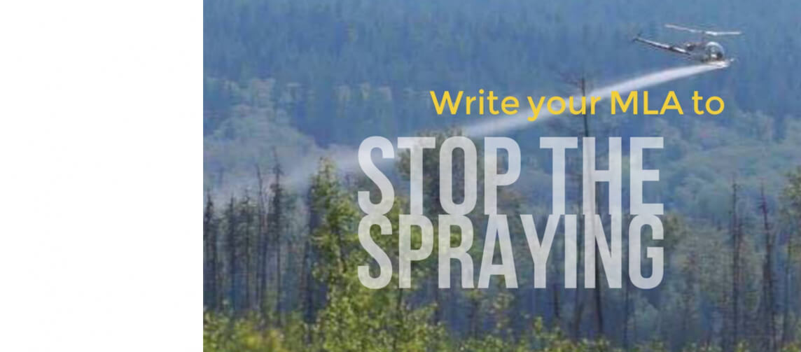 Have you sent your #stopspraying letter yet?