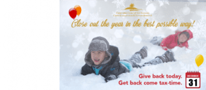 Make your year-end gift today
