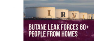 65 forced from homes after Irving Oil butane leak in Saint John