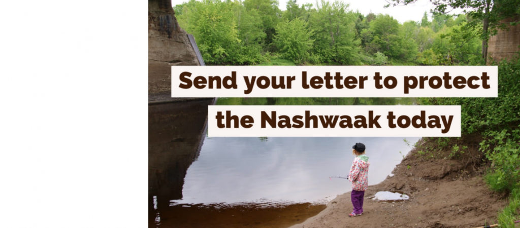 Act today to protect the Nashwaak River from the Sisson Mine