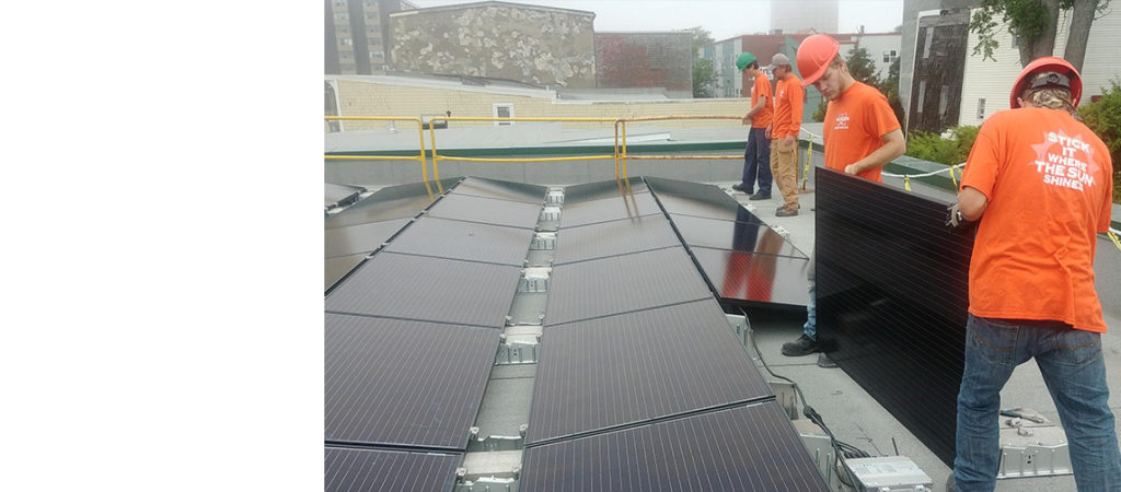 """Their excitement about the potential for solar energy grew the more they learned"""