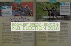 EcoAlert Special Edition: N.B. Election 2018