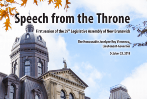 Looking for the environment in the 2018 Throne Speech(es)?
