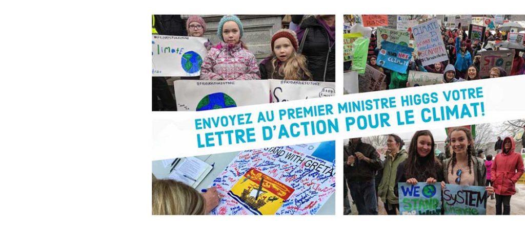 Cette année, marquez le Jour de la Terre d'une pierre blanche. Faites entendre votre voix afin d'encourager l'action pour le climat au Nouveau-Brunswick!