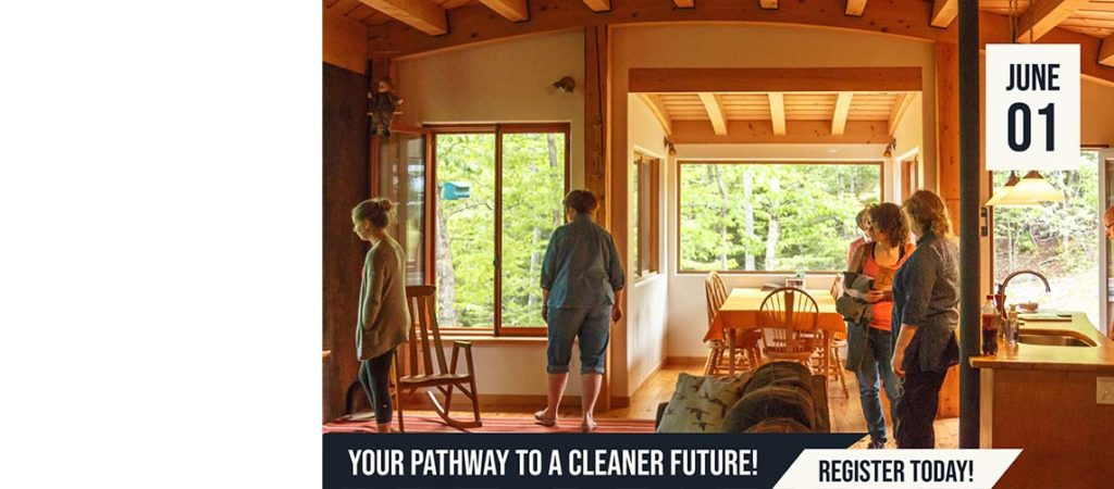 Get your ticket to a Cleaner Future today! Our NB EcoBuildings Tour is back!