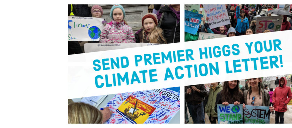 Make your Earth Day count a little more this year. Speak out for climate action in New Brunswick!