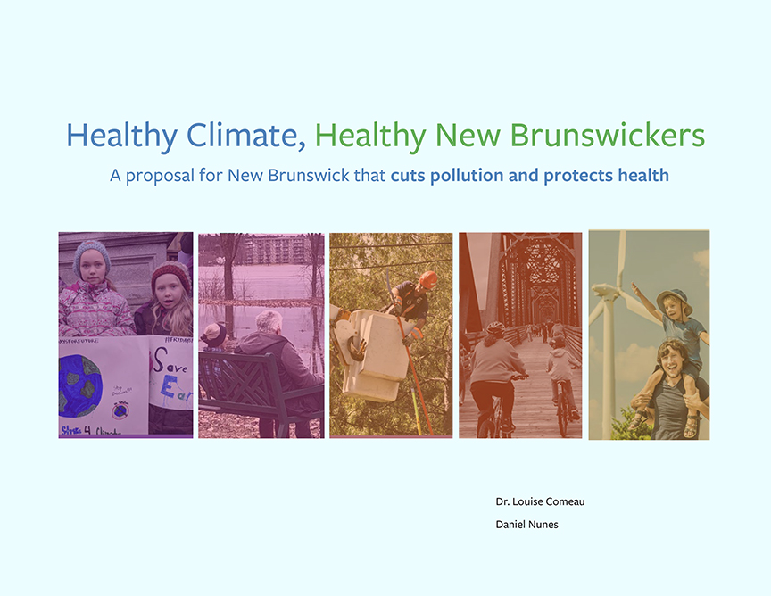 Healthy Climate, Healthy New Brunswickers-cover