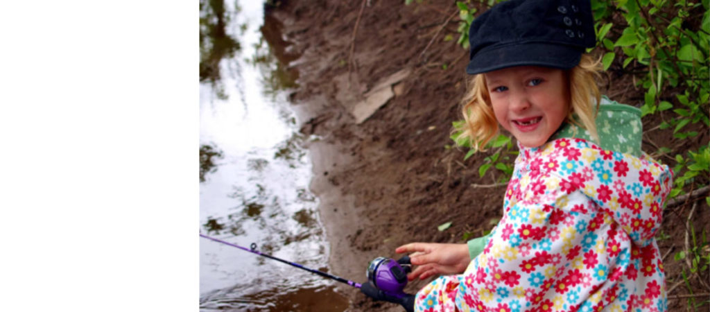 You can't go fishing in a dress